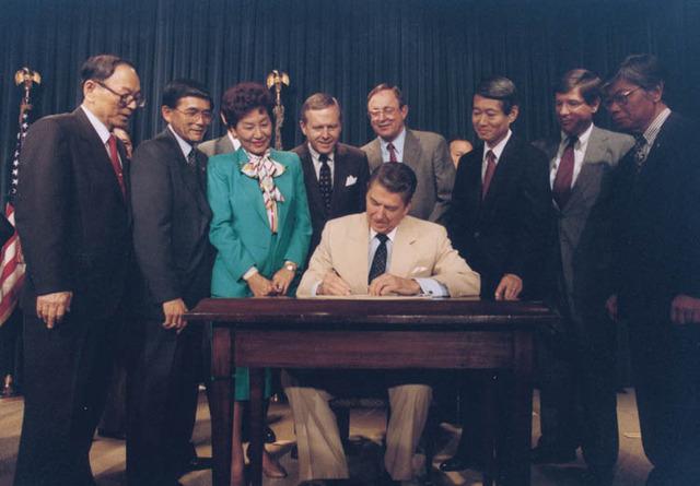 Civil Liberties Act Signed