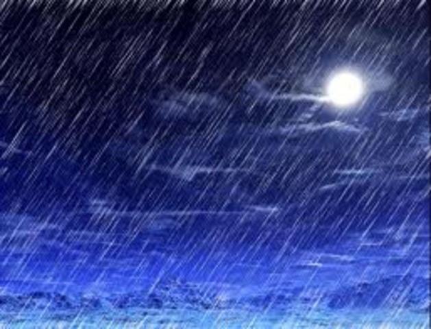 Precipitation!