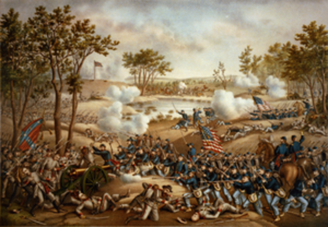 Grant Displays Fighting Style at Cold Harbor
