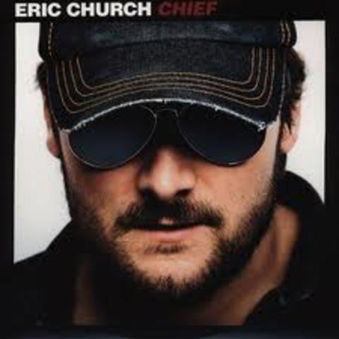 eric churchs CDs