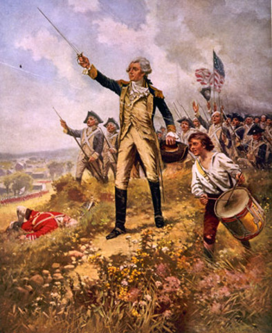 Lafayette's Arrival