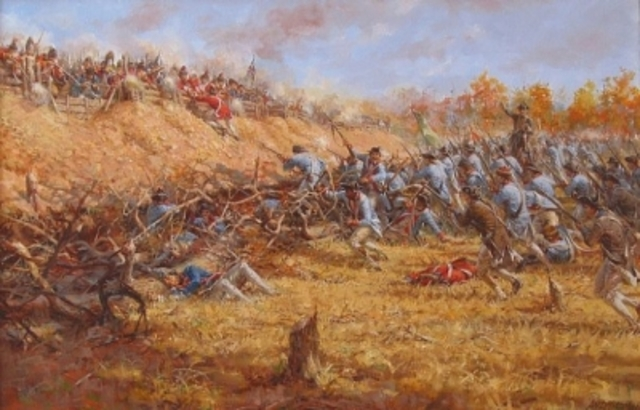 Battle of Saratoga 1