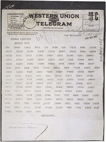 Zimmerman Telegraph