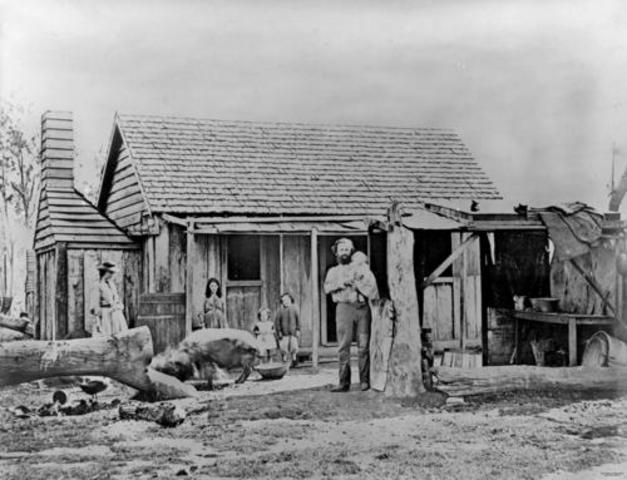 The Australian Godl Rush in Victoria Declared