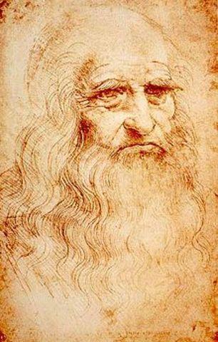 Leonardo's self-portrait