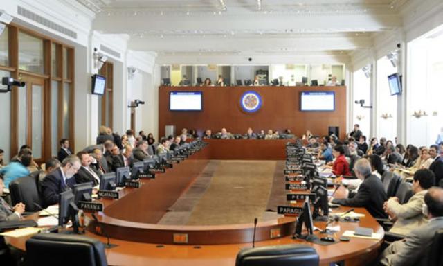 Lanzamiento del Foro Interamericano de Paz (2008)