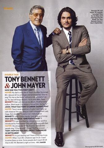 Entrevista e dueto com Tony Bennett