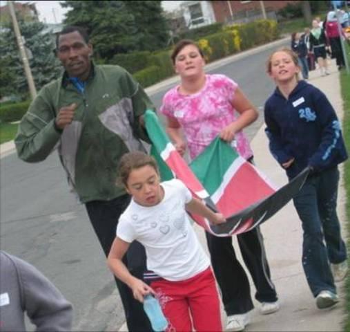 Glen Brae Middle School First Walk / Run