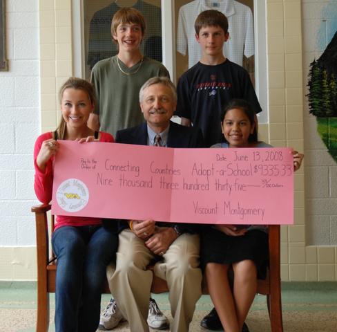 Viscount Montgomery School fundraises