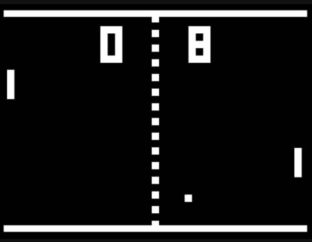 Pong the first video arcade game