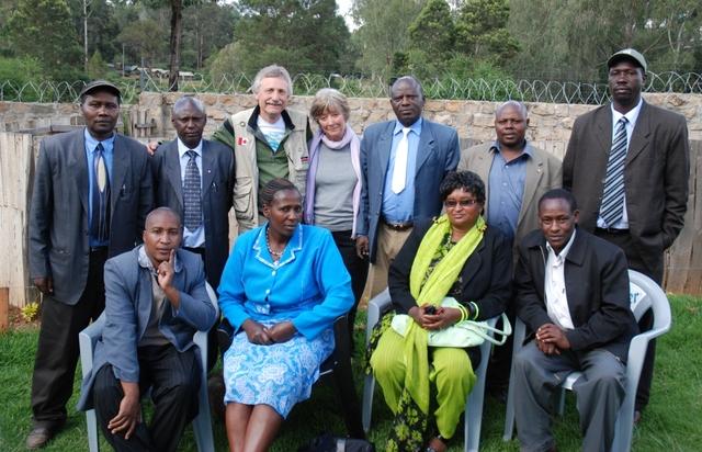 MAP Team to Kenya
