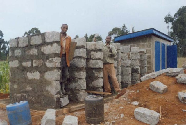 Completion of our 3rd set of latrines