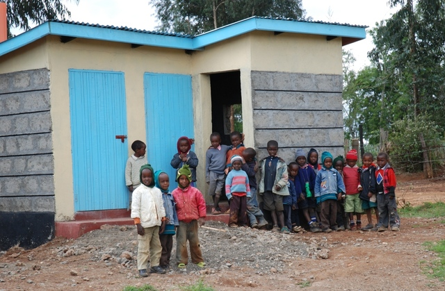 Completion of 6th set of latrines