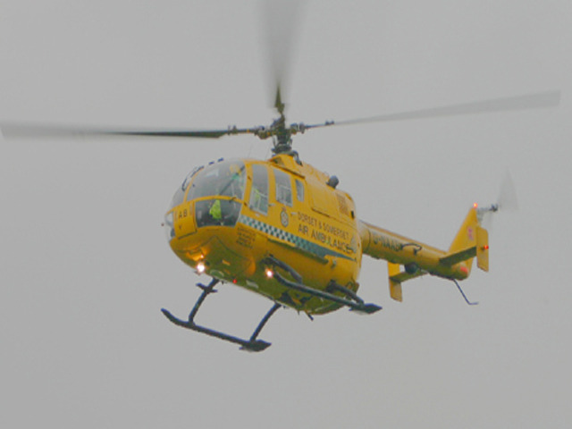 Air ambulance for Dorset and Somerset