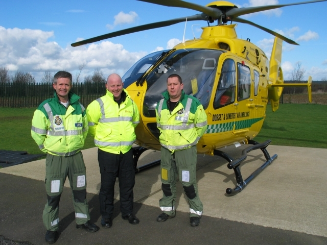 8000th mission for Dorset and Somerset
