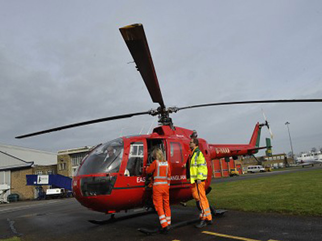 Uncertain times for East Anglian Air Ambulance