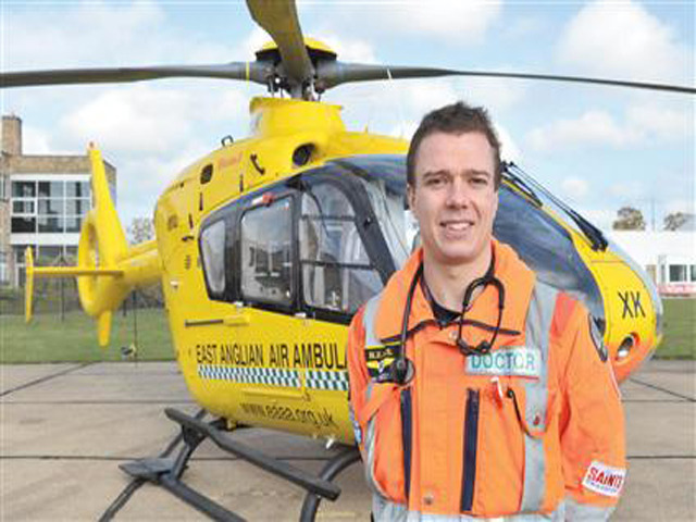Future secured for East Anglian Air Ambulance