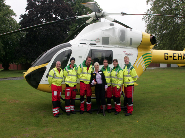 New helicopter for Essex