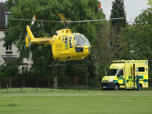 Hampshire and Isle of Wight Air Ambulance Launch