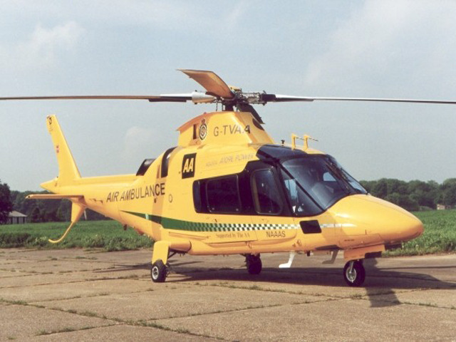 AA sponsorship for a new air ambulance