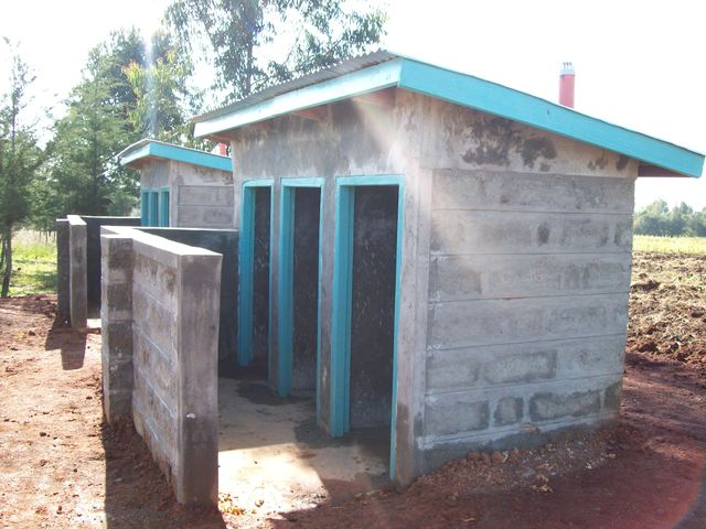 Equator Latrines completed