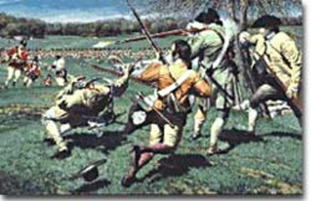 Battles At Lexington/Concord
