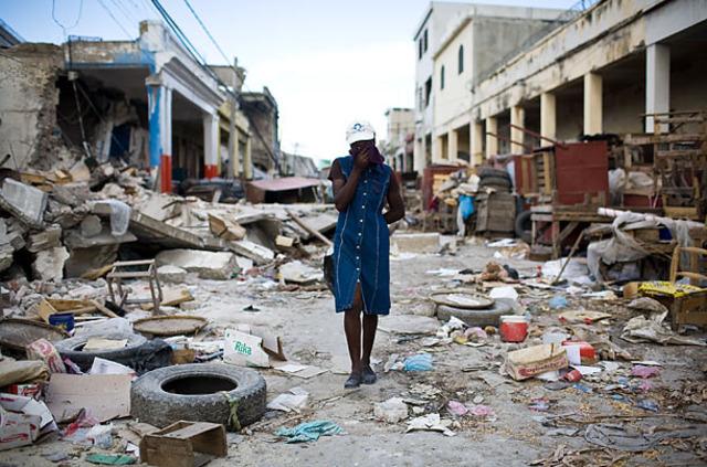The Haiti Earthquake Occurs