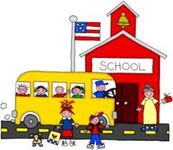 My first day of Kindergarten at Elm Creative Arts