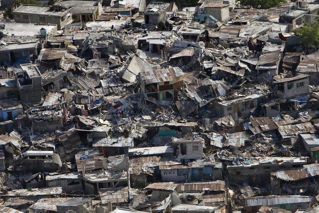Earthquake in Hatiti