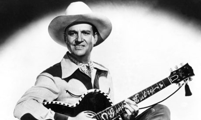 Gene Autry was the first singing cowboy