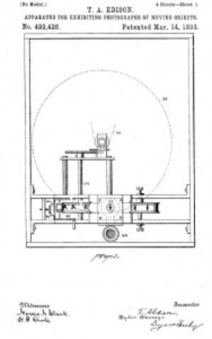 Invention of the motion picture