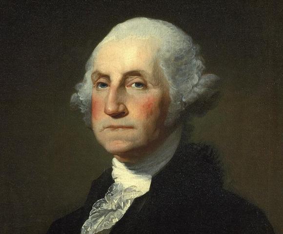 George Washington becoming the 1st President
