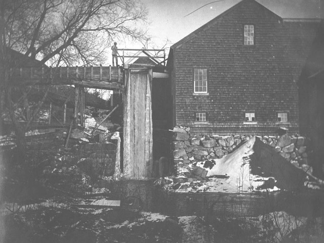First Water Powered Cotton Mill