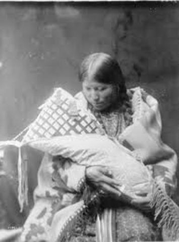 Chief Black Kettle's Birth