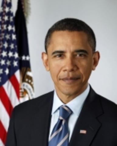 Barack Obama sworn in to be president