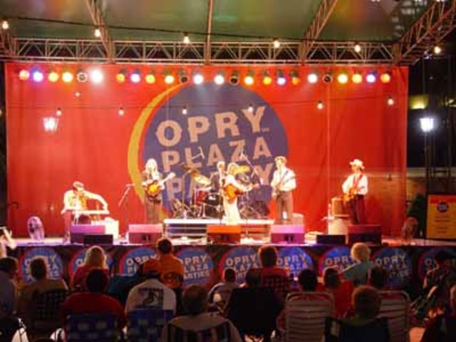 The Opry show begins its official run