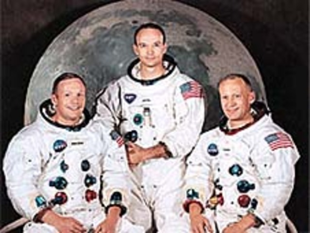 First man on Moon.