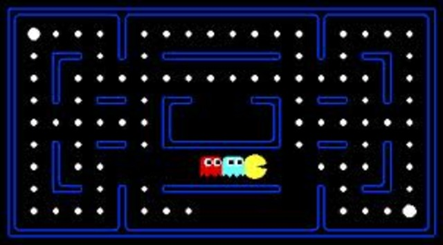Pacman came out.