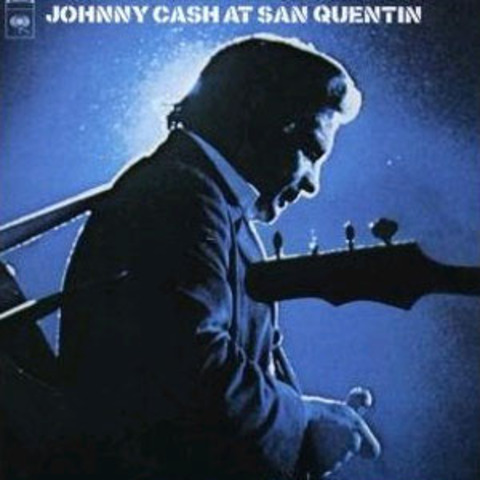 Cash Performs at San Quentin