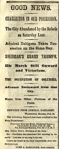 The confederate Capital falls