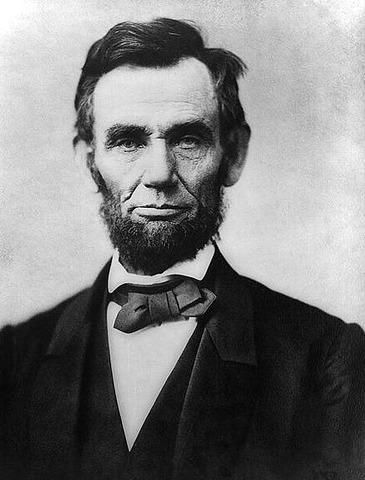 Abraham Lincoln inaugurated