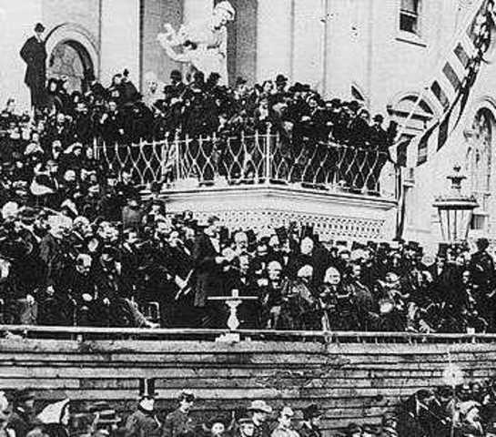 Lincoln Delivers 2nd Inaugural Address