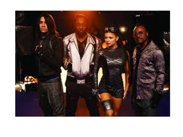 Black Eyed Peas Just Can't Get Enough