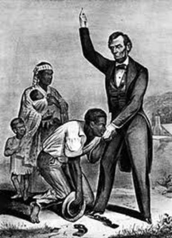 Slavery's abolished