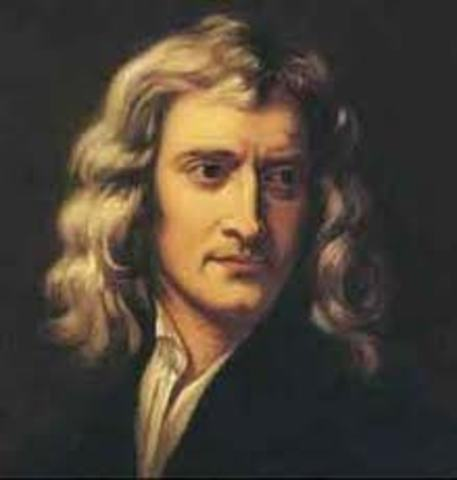 Newton introduces classical Physics to the world