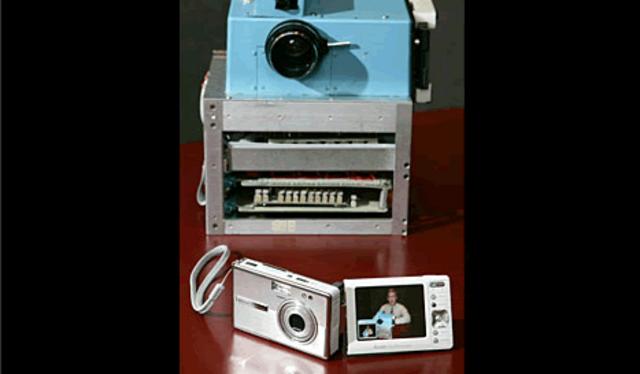 Fist still digital camera