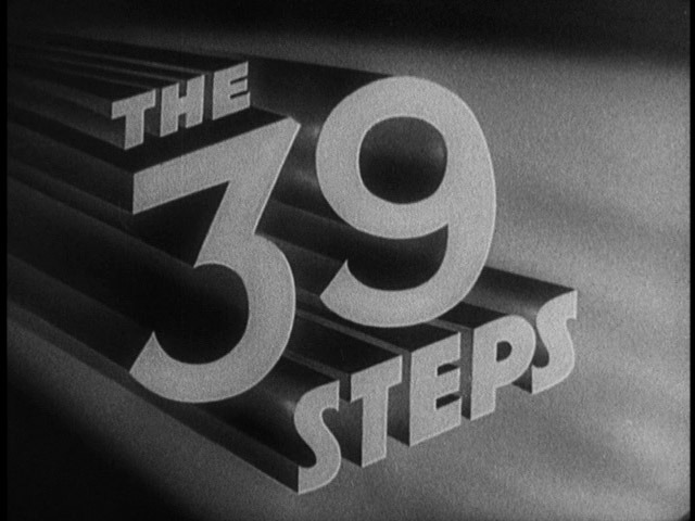 """Alfred Hitchcock and """"The 39 Steps"""""""