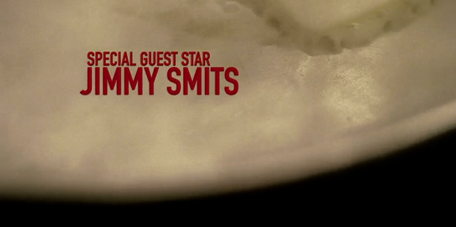 Special guest star Jimmy Smits - 38 seconds