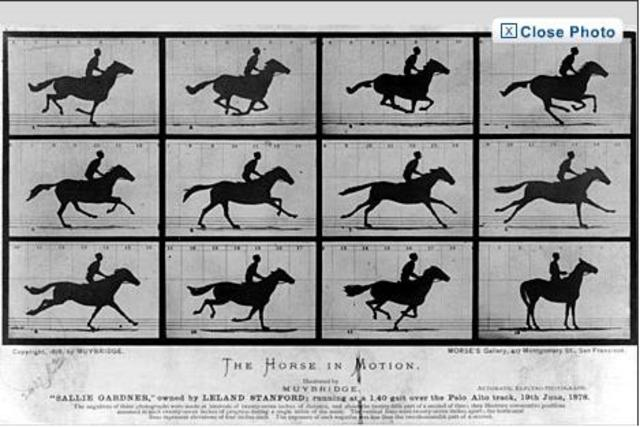 The first action photos