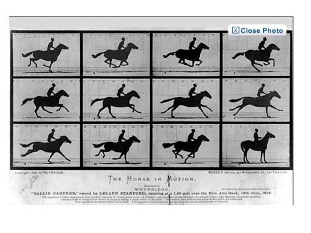 The first action photo